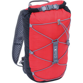 Exped Cloudburst 15 Backpack Unisex black-red